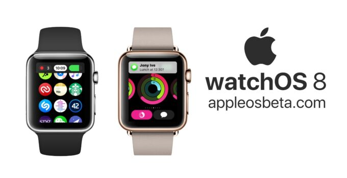 How to install WatchOS 8 Public Beta