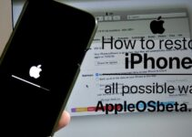 How to restore iPhone, all possible ways