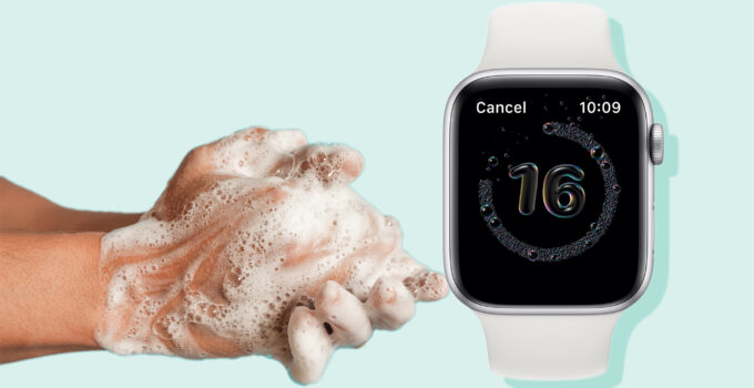 How to use the Apple Watch hand washing feature