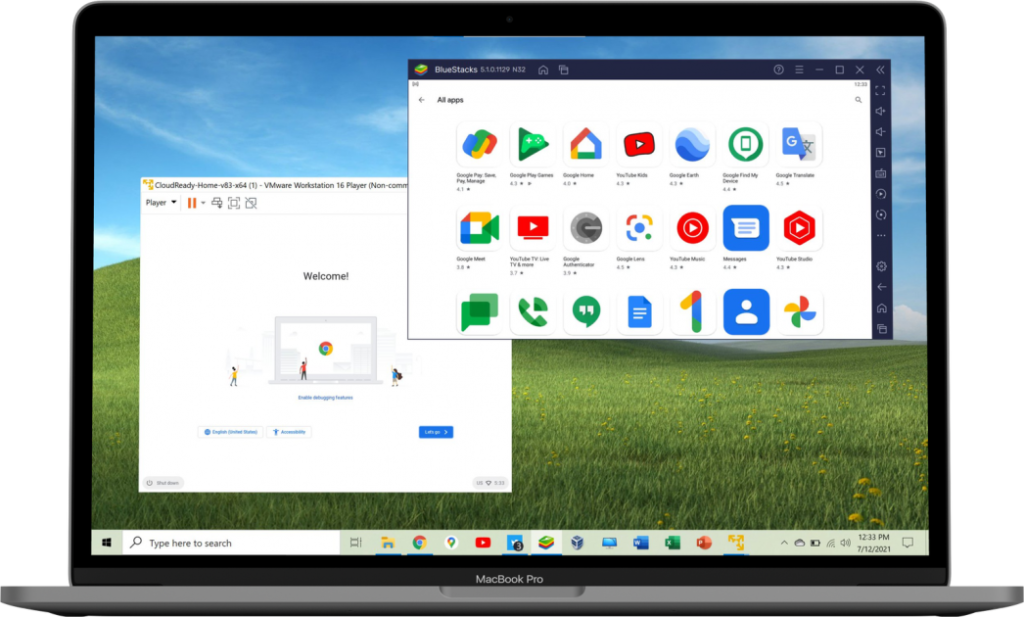 How to run Android, Chrome OS, or Windows on a Mac