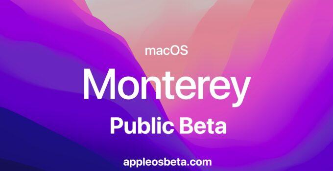 How to install macOS 12 Monterey Public Beta
