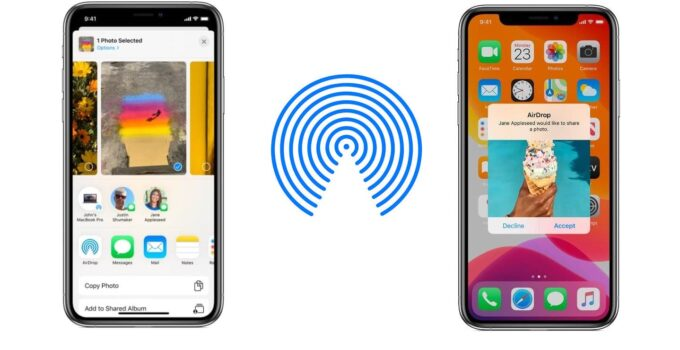 The fastest way to transfer data between Apple devices